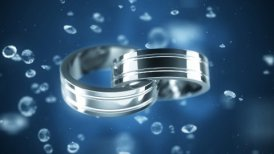 Platinum rings - motion graphic