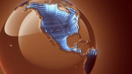 Global stock market - motion graphic