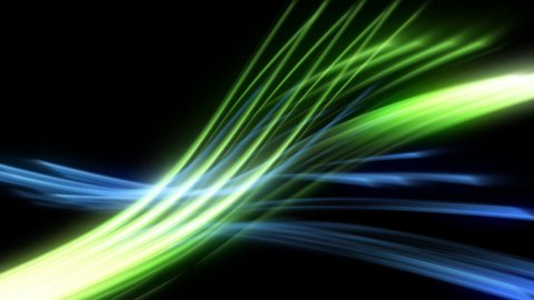 Glowing tech background 3d - stock footage