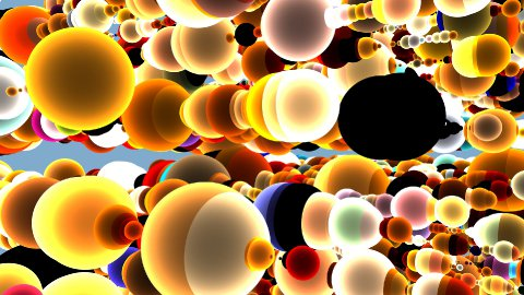 3d Colorful Sphere Background - stock footage