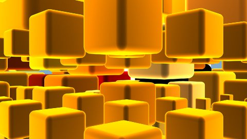 3d Cubes Background - stock footage