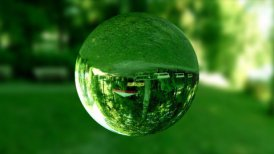 Glass orb or dew,environmental conservation, looping - motion graphic