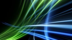 Glowing tech background 3d - motion graphic