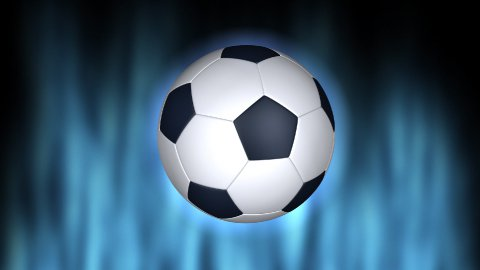 Soccer ball and Earth animation - stock footage