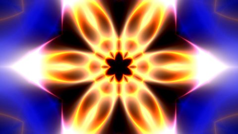Kaleidoscope light modulations - stock footage