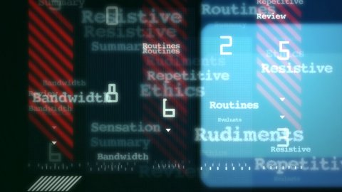 News background - stock footage