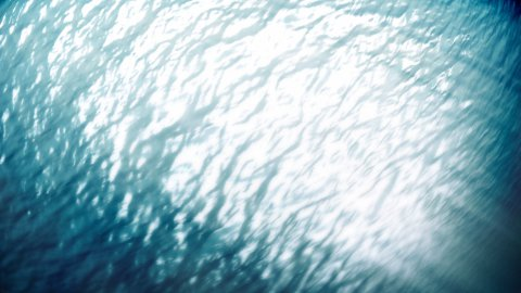 Underwater rolling cam - stock footage