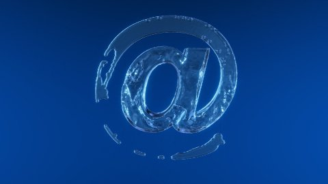 Internet symbol,Alpha included - stock footage